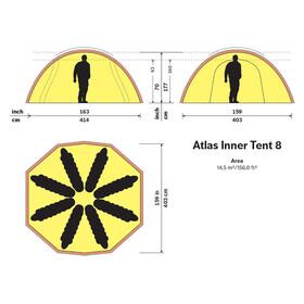 Hilleberg Atlas innertält utan golv
